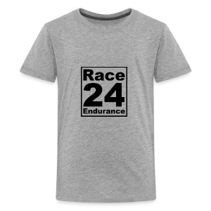 Race24 logo in black - Teenage Premium T-Shirt