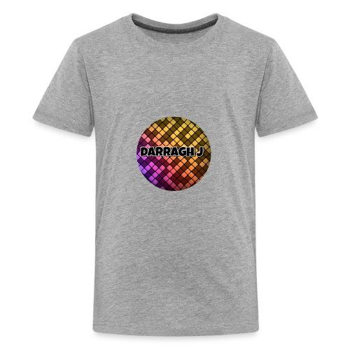 Darragh J logo - Teenage Premium T-Shirt