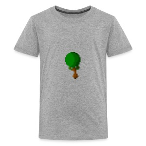 Happy Pixel Tree - Teenager Premium T-shirt