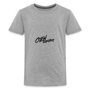Black - Teenage Premium T-Shirt