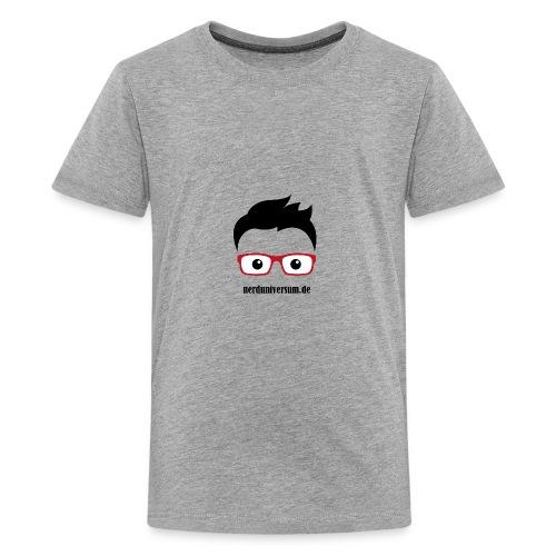 nerduniversumlogo - Teenager Premium T-Shirt