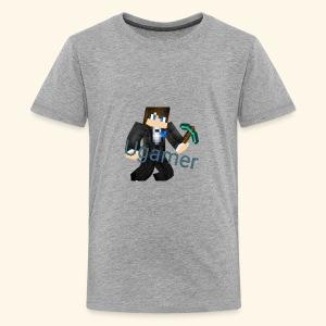 Naam+mc - Teenager Premium T-shirt