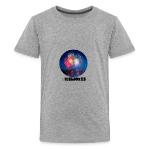 Fireworks - Teenager Premium T-Shirt