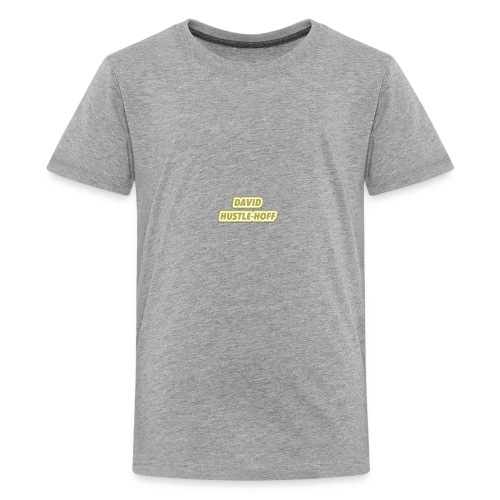 David Hustlehoff Solo - Teenage Premium T-Shirt