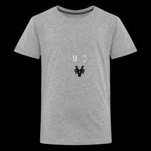 M C Tees NEW Logo on the NEW collection - Teenage Premium T-Shirt