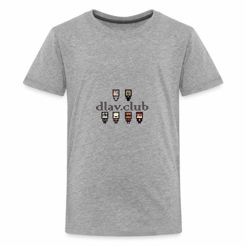 dlav.club staff team - Teenage Premium T-Shirt