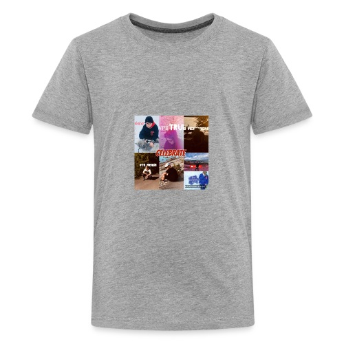 19961CC7 D049 4CF5 822B 3AABE968AF21 - Premium-T-shirt tonåring