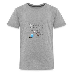 Zitat:In meine Augen ist das die besten Erfindung - Teenager Premium T-Shirt