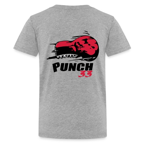 logo punch 33 - T-shirt Premium Ado