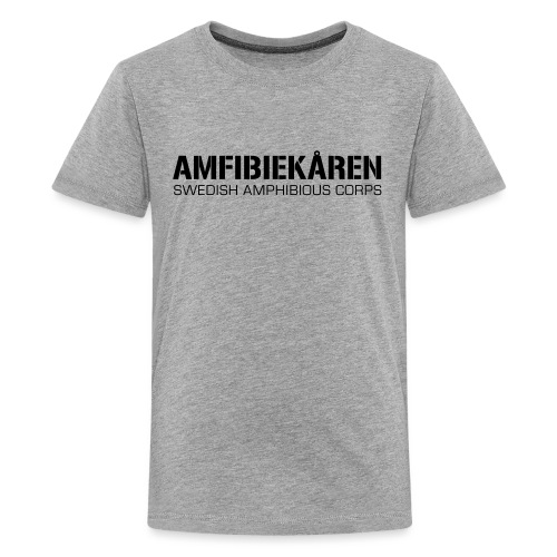 Amfibiekåren -Swedish Amphibious Corps - Premium-T-shirt tonåring