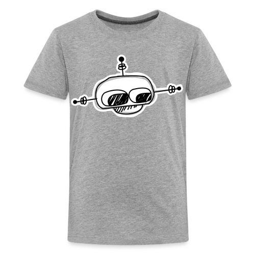 robot head 002 - Teenager Premium T-shirt