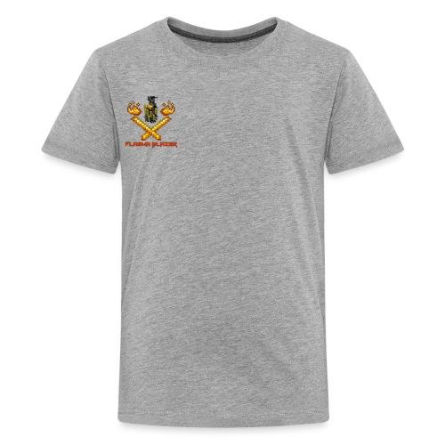 PlasmaBlazerLogo - Teenage Premium T-Shirt