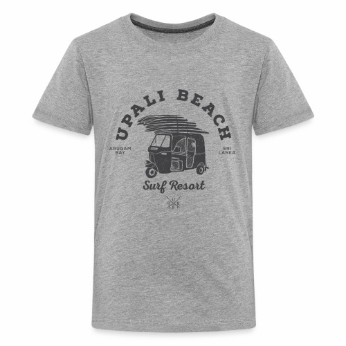 Tuk-grey - Teenage Premium T-Shirt