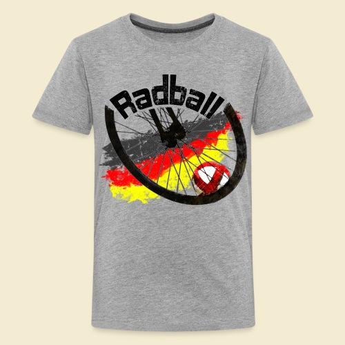 Radball | Deutschland - Teenager Premium T-Shirt