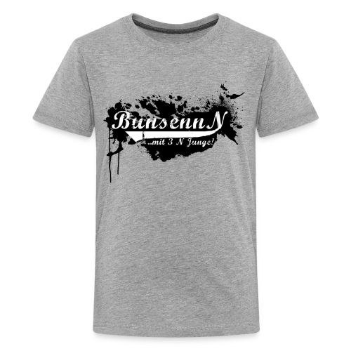 logschwarz - Teenager Premium T-Shirt