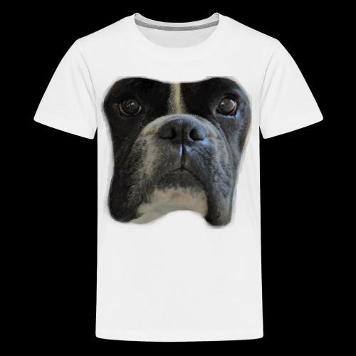 boxer big face - Teenage Premium T-Shirt