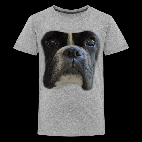 boxer big face - Teenage Premium T-Shirt