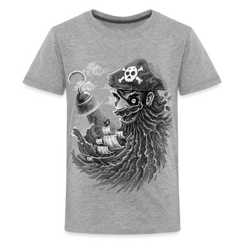 Blackbeard - Teenage Premium T-Shirt