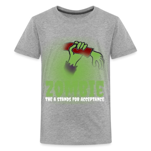 Zombie The A stands for - Teenage Premium T-Shirt