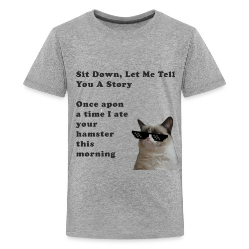 tshirt design 2 png - Teenage Premium T-Shirt