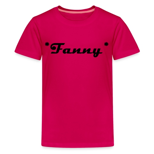 FANNY DESIGN - Teenager Premium T-Shirt