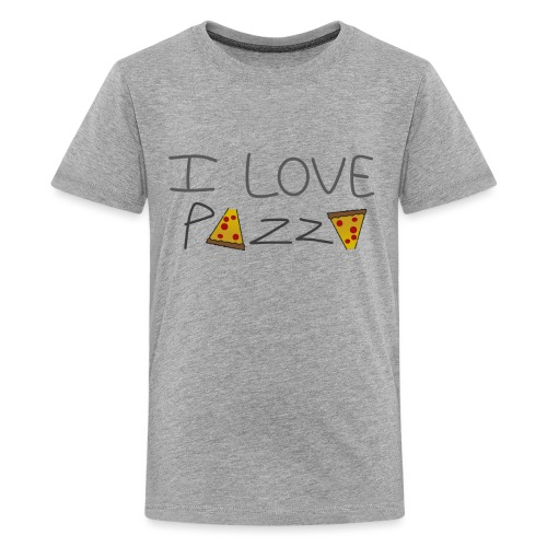 Pizza - T-shirt Premium Ado