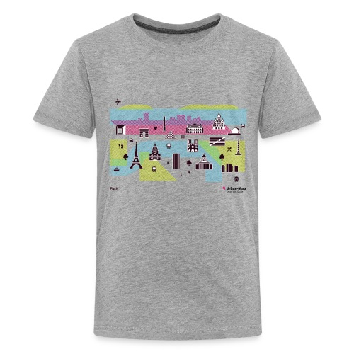 Paris City - Teenage Premium T-Shirt