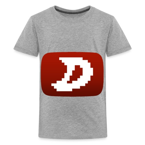 Darien Logo Design - Teenage Premium T-Shirt