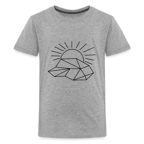 Sonne Wolke - Teenager Premium T-Shirt