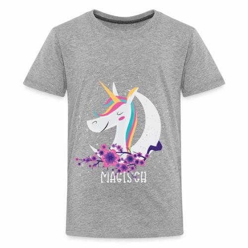 Magisches Einhorn - Teenager Premium T-Shirt