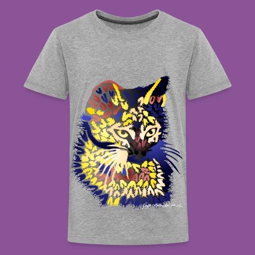 Katze 9 - Teenager Premium T-Shirt