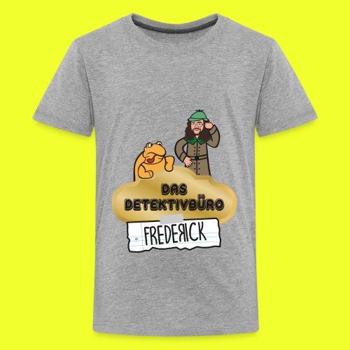 Das Detektivbüro Frederick - Teenager Premium T-Shirt