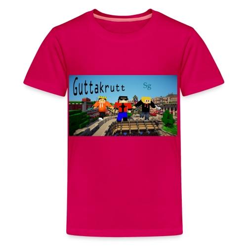 Ferdig png - Premium T-skjorte for tenåringer