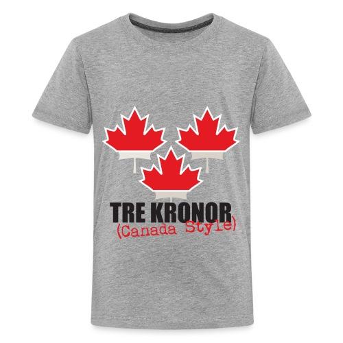 3kronorCanada1 - Teenage Premium T-Shirt
