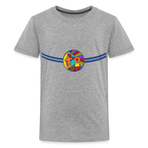 Brustband Indianer - Teenager Premium T-Shirt