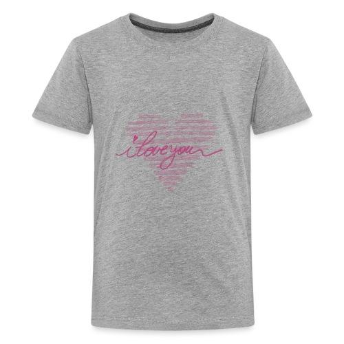 In kalk letters - T-shirt Premium Ado