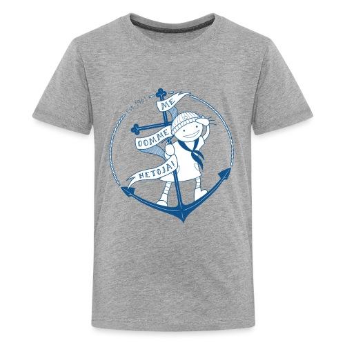 HeTan juhlavuosi - Teinien premium t-paita