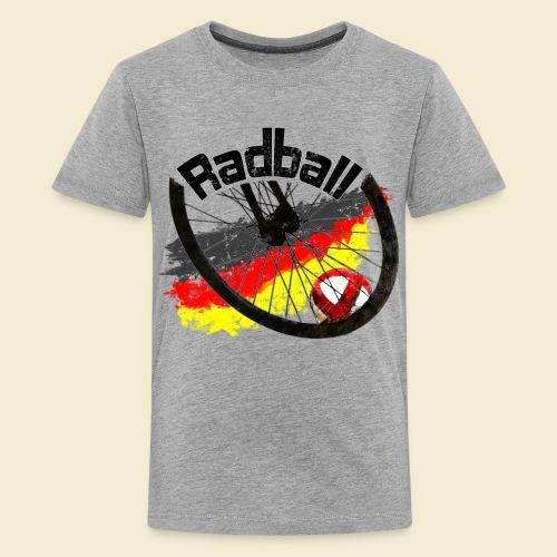 Radball   Deutschland - Teenager Premium T-Shirt
