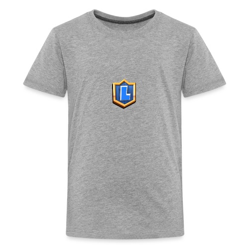 LuFresh Logo Blau - Teenager Premium T-Shirt