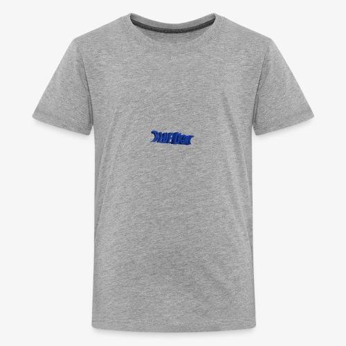 Blue Light Borst - Teenager Premium T-shirt