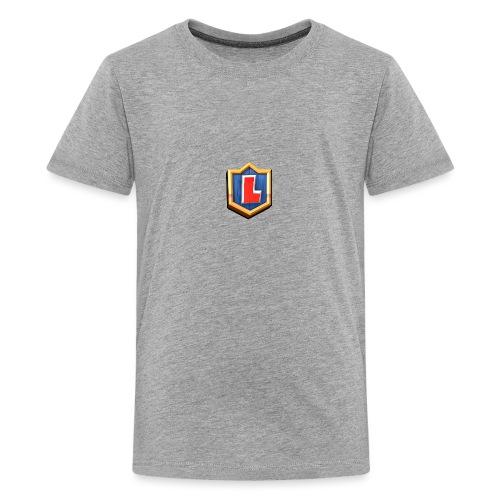 LuFresh Logo Rot - Teenager Premium T-Shirt