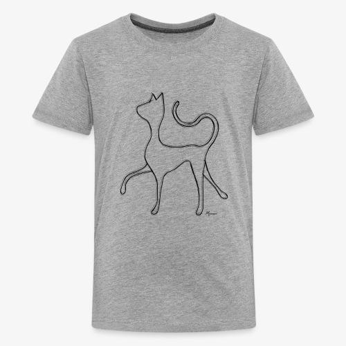 Hypnocat - Black - Teinien premium t-paita