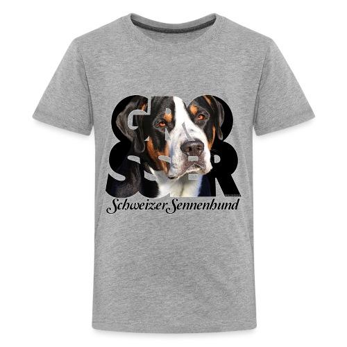 Grosser Schweizer Sennenhund Dark - Teinien premium t-paita