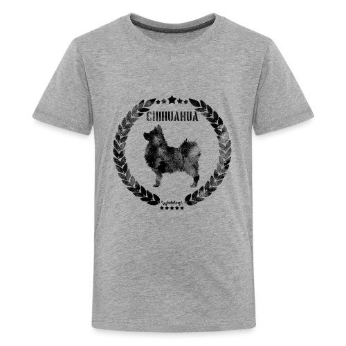 Chihuahua Army Black 2 - Teinien premium t-paita