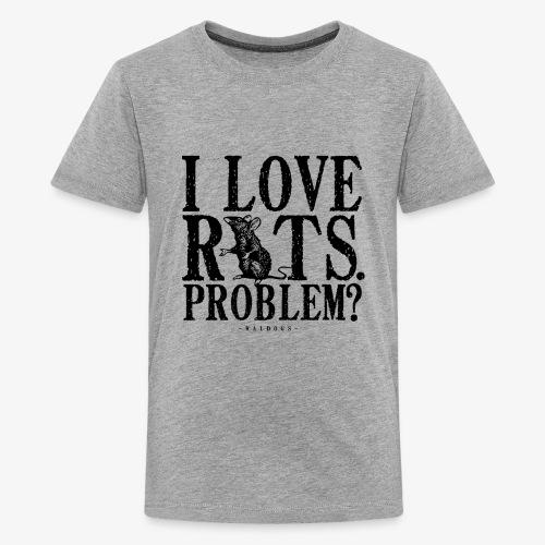 Rats Problem 7 - Teinien premium t-paita
