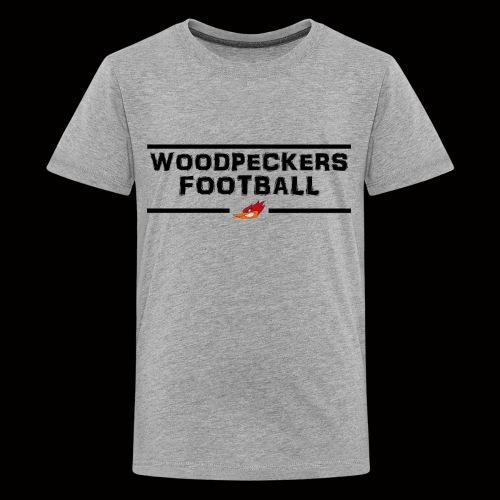 woodpeckersfootball2 - Teenager Premium T-Shirt