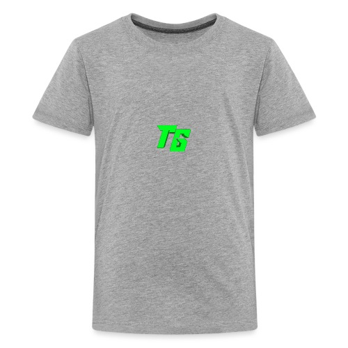 Tristan Jeux marchandises logo - T-shirt Premium Ado