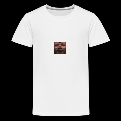 Why be a king when you can be a god - Teenage Premium T-Shirt