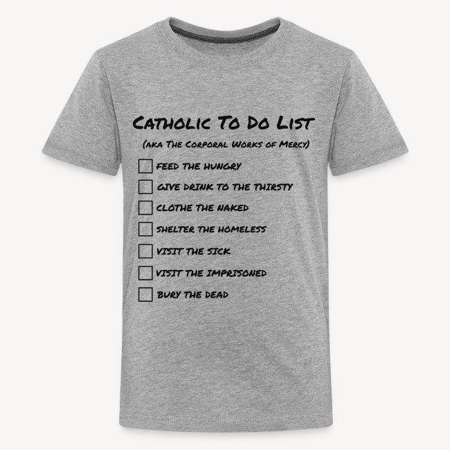 CATHOLIC TO DO LIST