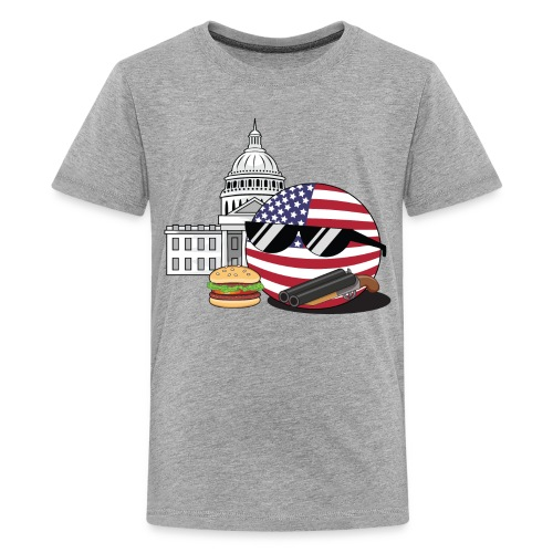 UnitedStatesBall - Teenage Premium T-Shirt